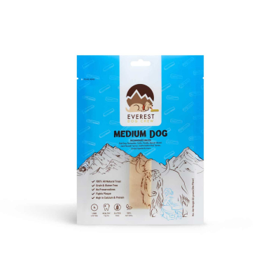Everest Dog Chew® – Yak Milk Dog Chew for Medium Dogs – 80gm