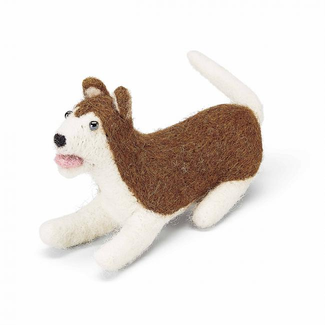 small-felted-doggo